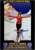 Les Sports d'Hiver en France Posters by Roger Soubie