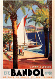 Cote d&#39;Azur Prints by E. Paul Champseix