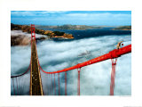 Puente Golden Gate, San Francisco Láminas por Roger Ressmeyer