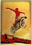 Moto Sacoche Affiches par Joe Bridge