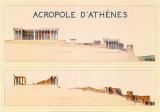 Acrópolis Lámina por Marcel Lambert