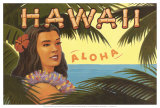 Hawaii, Aloha Posters