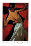 Carmine Cafe Plakater af Bill Brauer