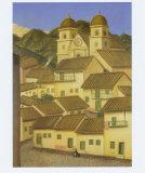 Le village Affiches par Fernando Botero