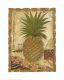 Pineapple Prints by Linda Denison