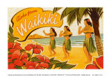 Aloha de Waikiki Posters