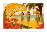 Aloha from Waikiki Posters