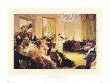 Le concert Affiches par James Tissot