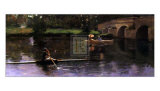 The Bridge at Grez Prints by Sir John Lavery