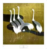 Cranes Posters by Sakai Hoitsu