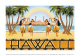 Rainbow Hawaii Poster