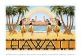 Rainbow Hawaii Poster