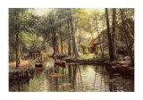 Going to Market Print by Peder Mork Monsted