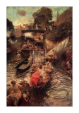 Boulter's Lock: Sunday Afternoon Prints by Edward John Gregory