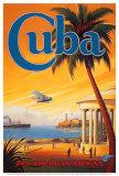 Visitez Cuba Affiches par Kerne Erickson