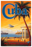 Visit Cuba Posters van Kerne Erickson