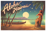 Aloha Hawaii Poster