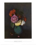 Fleurs Prints by Odilon Redon