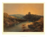 Norham Castle Poster by J. M. W. Turner