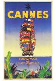Cannes Kunst af M. Pecnard