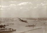 Boeing Stratocruiser, New York Harbor, 1949 Print