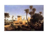 Moorish Buildings at Elche, Spain Posters by Adolphe Paul E. Balfourier