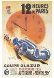 12-Stunden-Rennen von Paris Kunst von Geo Ham