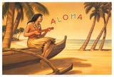 Aloha Serenade Posters