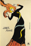 Jane Avril Art by Henri de Toulouse-Lautrec
