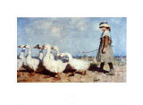 To Pastures New Posters by Sir James Guthrie