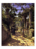Pergola Harvest Prints by Peder Mork Monsted