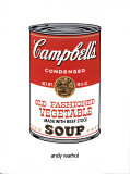 Campbell's Soup Art by Andy Warhol