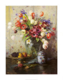 Spring Flowers and Ginger Jar Posters by Fernand Toussaint