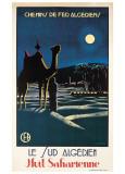 Le Sud Algerien Poster af S. Besse