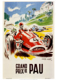 Grand Prix De Pau Posters par Geo Ham