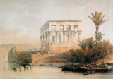 Philae Temple Posters by David Roberts