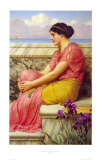Absence Makes the Heart Grow Fonder Prints by John William Godward