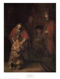 Den fortabte søn vender tilbage Plakater af Rembrandt van Rijn