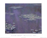 Water Lilies, c.1905 Print by Claude Monet
