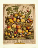 Fruits of the Season, Summer Posters by Robert Furber