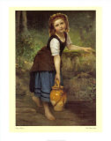 The Pitcher Girl Prints by Victor Thirion