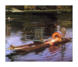 Boating on the Thames Art by Sir John Lavery