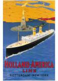 Holland America Line Kunstdrucke