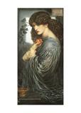 Prosperine Kunst af Dante Gabriel Rossetti