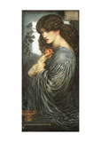 Prosperine Art by Dante Gabriel Rossetti