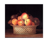 Bowl of Peaches Posters by Raphael Peale