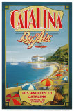 Catalina by Air Poster por Kerne Erickson