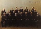 Padre, tercero por la izquierda Pósters por Michael Sowa