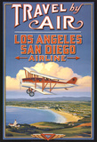 Travel by Air Poster af Kerne Erickson