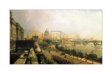 The Embankment from Somerset House Poster by John O'connor
